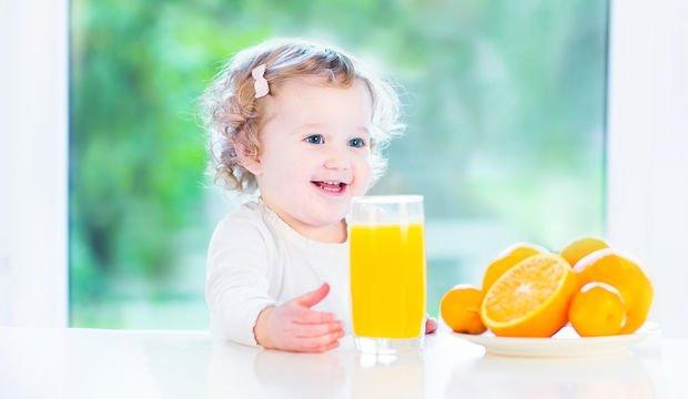 çocuklara meyve suyu içirmek, çocuklar ve meyve suyu